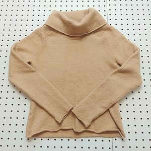 J. Crew Cowl Neck Cropped Sweater, Size PS
